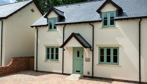 Chartwell green flush sash windows