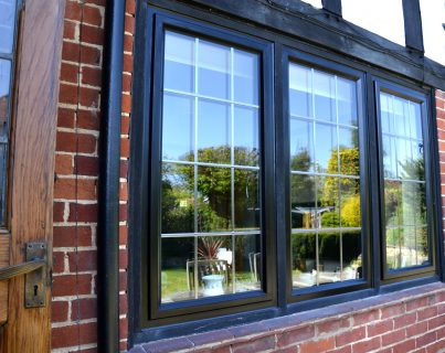 Black Ali Casement Window