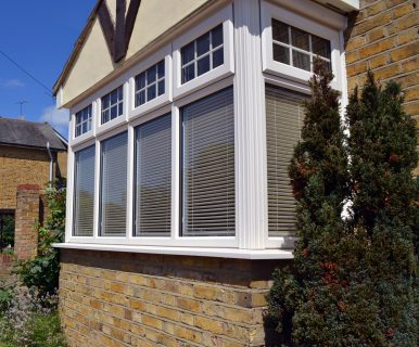 uPVC Bay Window in Cream