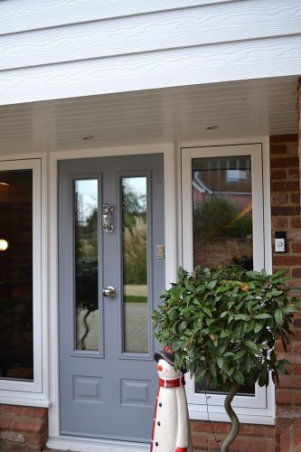 French Grey Composite Door