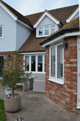 Flush Sash Windows - White