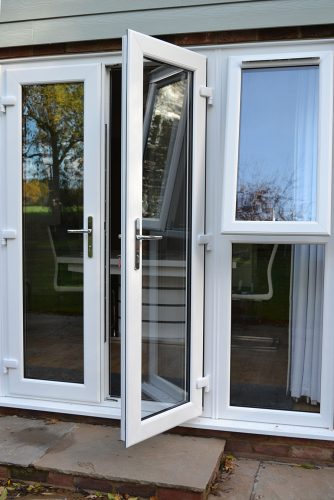 uPVC French Door White