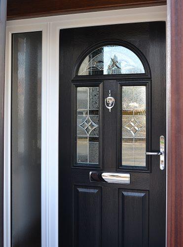 Conway 3 Black - Solidor composite door