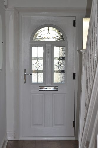 Composite Door - Conway 3 - White