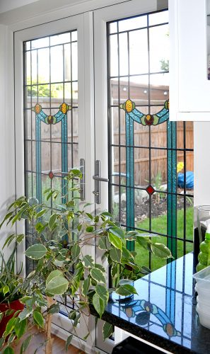 Rehau uPVC French Doors with Encapsulated Glass