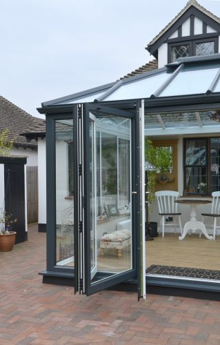 Anthracite Grey Conservatory image